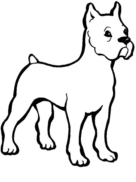 black and white coloring pages of dogs dog color pages printable dogs dog9 animals coloring