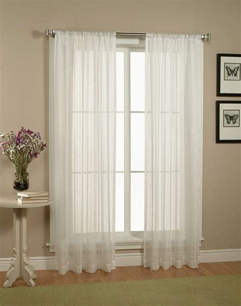 Floor To Ceiling Sheer Curtains by 1000 Ideas About White Sheer Curtains On