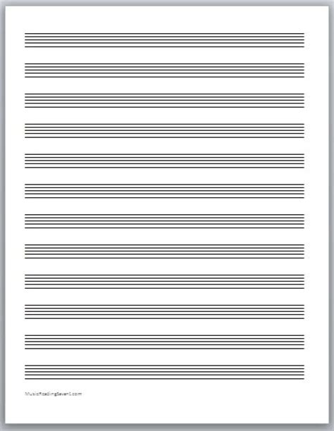 online printable staff paper get your free music staff paper