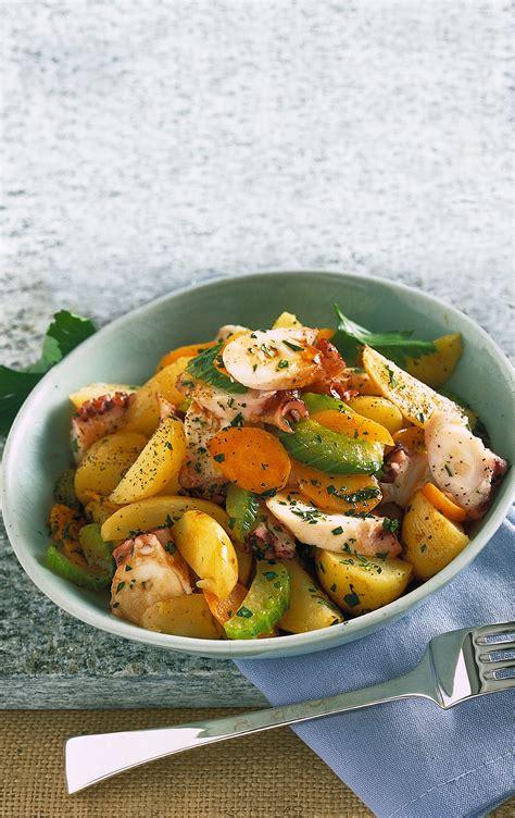 insalata di polpo con sedano insalata tiepida di polpo al sedano sale pepe