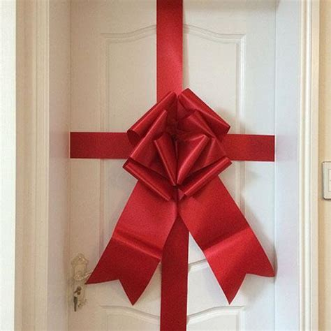 giant door bow  piece red giant door bow  piece red