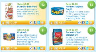 There are several new printable purina coupons