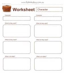 character worksheet nanowrimo pinterest