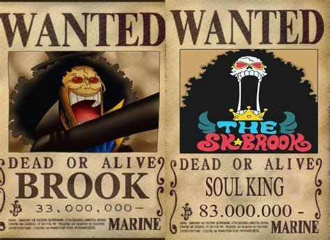 Kaos Anime Brook Wanted One Bounty brook s bounty then and now one then and now hats and pictures