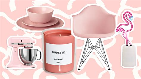 pink home decor 23 pink things for your home to shop now stylecaster