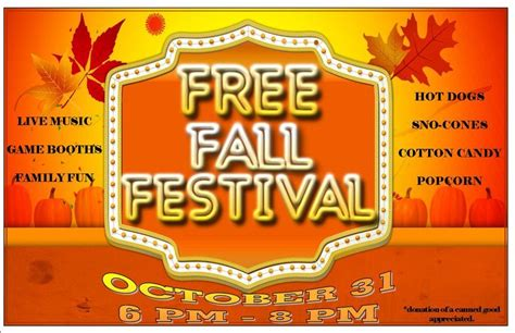 7 Best Images Of Free Printable Fall Festival Flyer Templates Fall Festival Flyer Template Free Printable Fall Festival Flyer Templates