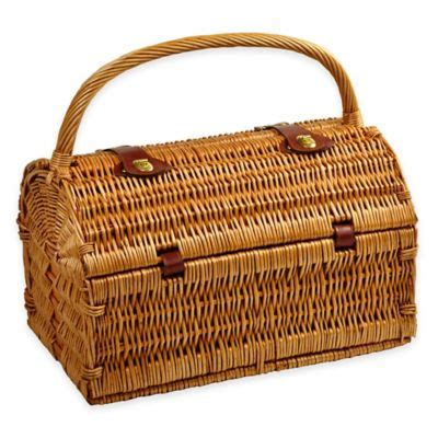 bed bath and beyond baskets buy willow picnic basket from bed bath beyond