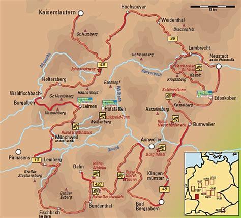 Motorrad Online Maps by Traumstra 223 En Pfalz Info Karte Tourenfahrer Online