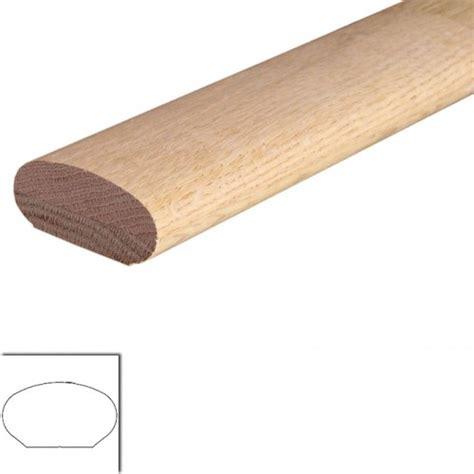 oak banister rail 6042 oval oak wall rail