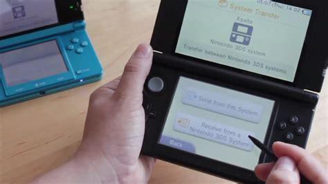 tutorial nintendo 3ds xl tutorial como transferir seus dados e jogos do nintendo