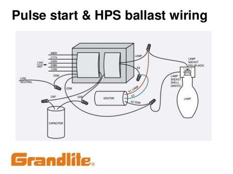hps wiring diagram with capacitor 28 images 150 watt