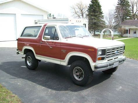how to work on cars 1985 ford bronco electronic valve timing purchase used 1985 ford bronco in presque isle michigan united states for us 4 900 00