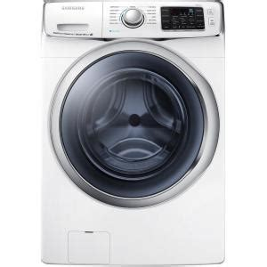 samsung 4 5 cu ft high efficiency front load washer in