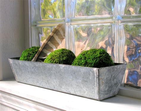 Metal Window Planter by Galvanized Metal Planter Box Window Farmhouse Garden Rustic