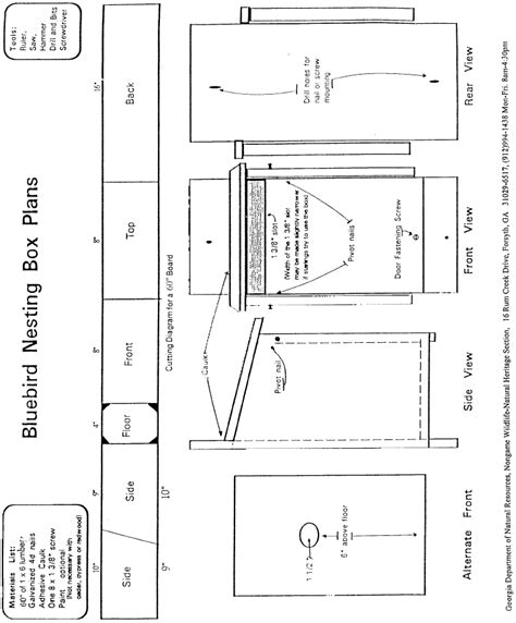 printable bat house plans usssp baloo s bugle