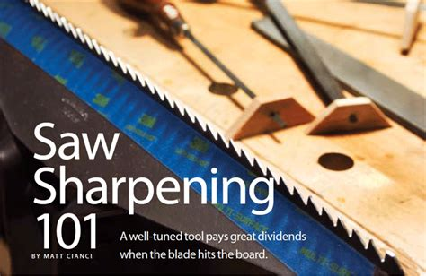 sharpening how to how to sharpen saw blades popular woodworking magazine