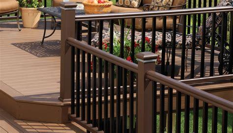 Deck Railing   Composite & Aluminum Deck Railing   TimberTech