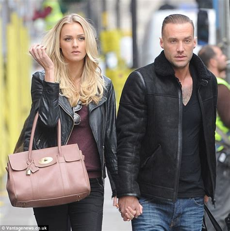 george best girlfriends calum best and ianthe stroll in