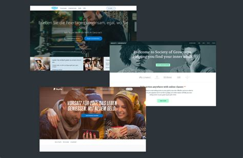 2017 web design trends new media caigns webdesign trends 2017 kulturbanause 174 blog