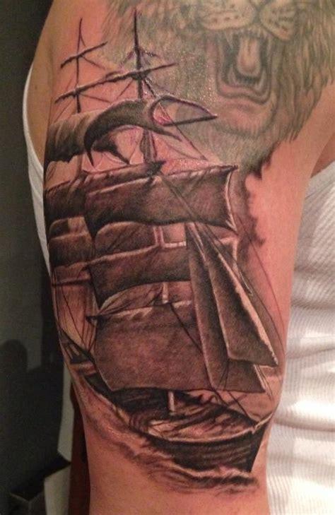 clipper ship tattoo clipper ship by stevie monie tattoos