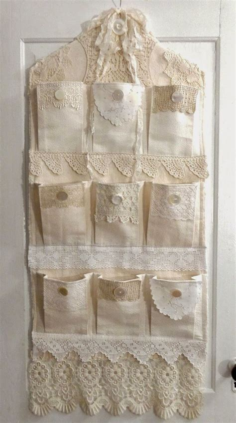 25 best ideas about vintage lace crafts on pinterest vintage lace hanging organizer and lace art