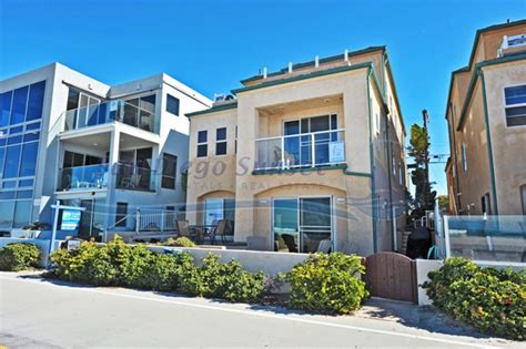 Oceanfront Apartments In San Diego Beachfront Villa Spacious 2 Story W Garage And Laundry
