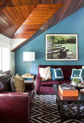turquoise walls graphic rug burgundymerlot sofa liz