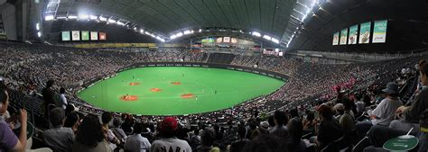 100 japanese dome house japanese baseball at the rocket9 net japanese trip panoramic photography gallery