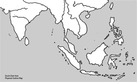 blank map of southern asia east asia quotes like success