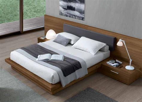 Jesse Ala Super King Size Bed In Wood   Super King Size