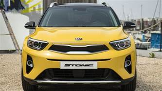 Kia Crossovers New Kia Stonic Kia S New Crossover Suv Revealed In