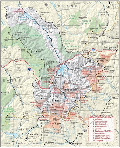 colorado school of mines cus map summit county colorado geological survey