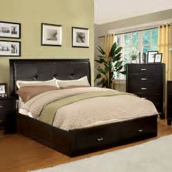 shop furniture of america enrico espresso platform bed