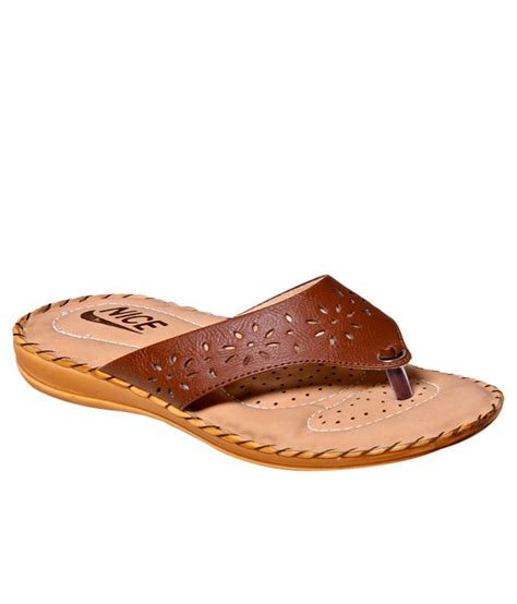 comfortable brown flats nice brown comfortable flat slip on price in india buy