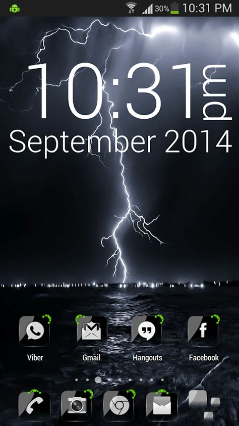 Hd Black Themes For Android | adw theme crystal black hd android apps auf google play