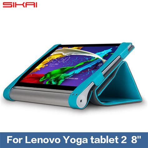 sikai new slim pu leather tablets stand cover