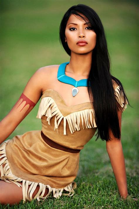 Handmade Pocahontas Costume - top 5 couples and costume idea