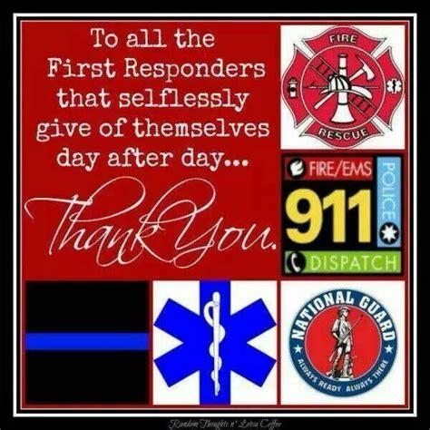 responders thankyoufirstresponder appreciation st responders police