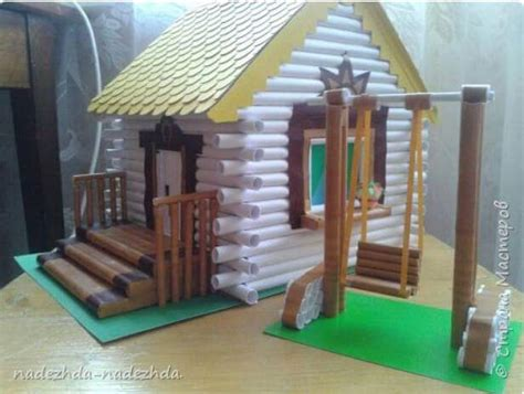 make a home how to make a house with paper tube crazzy craft
