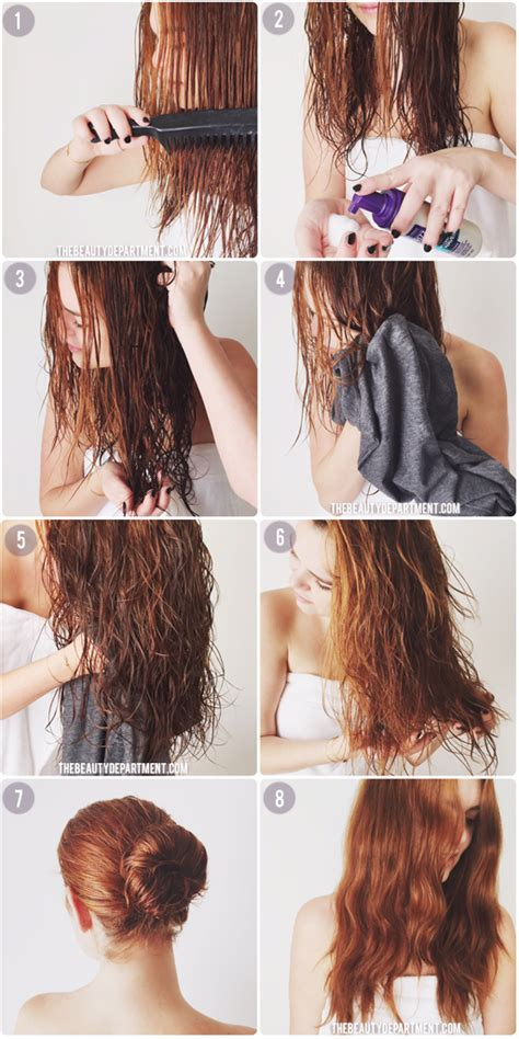 How Do You Make Your Hair Curly After A Shower