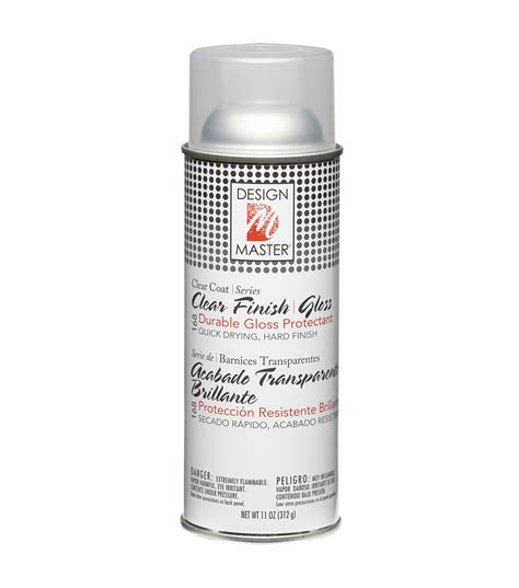 spray paint joanns home decor finish aerosol spray 12 ounces clear gloss jo