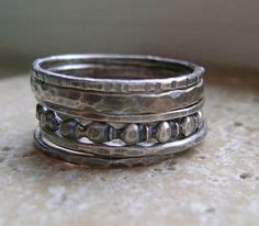 silver stacking rings stacking rings and sterling silver