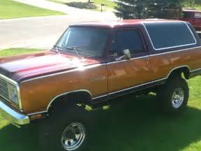 Dodge Charger Wagon Dodge Ramcharger Prosector 1985 Power Wagon For Sale