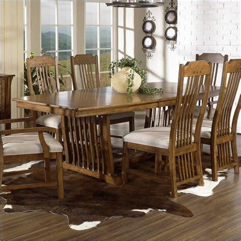 somerton dwelling craftsman mission  piece dining set