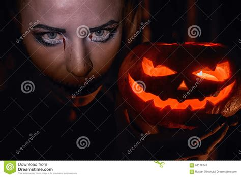 girl eyes themes horrible girl with scary mouth and eyes stock photo