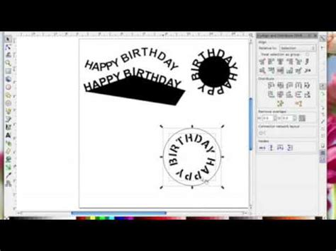 inkscape tutorial text on path inkscape text on path youtube