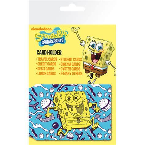 spongebob doodle doodle spongebob doodle card holder iwoot