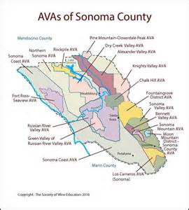 map of sonoma county california sonoma california swe map 2017 wine wit and wisdom