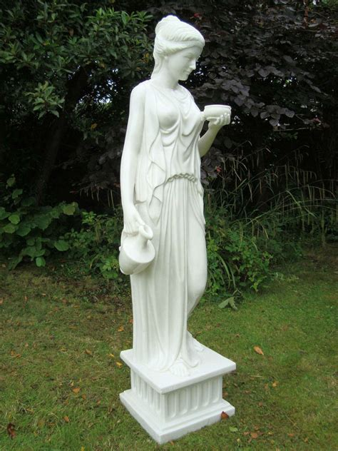 Garden Of Ebay Large Garden Statues Ornament Hebe Sculpture Ebay