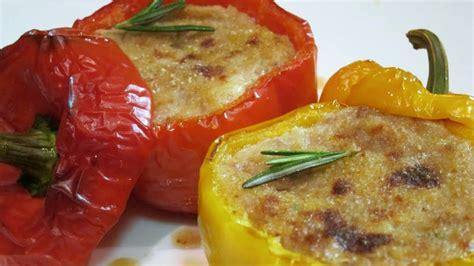 come cucinare i peperoni ripieni al forno peperoni ripieni ricette bimby